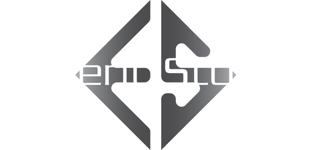 Escient Studios logo for black background 2to1